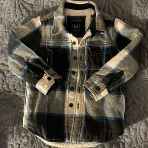 Boys button up sweater